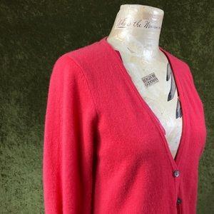 Lauren Hansen Sweaters - LAST CHANCE💞Lauren Hansen pink cashmere cardigan